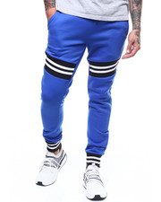 Sweatpants - Stripe Rib Jogger Pant-2303545