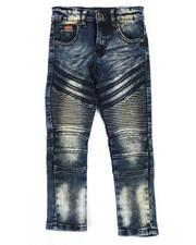 Boys - Heavy Blasted Stretch Moto Denim Jeans (4-7)-2302566