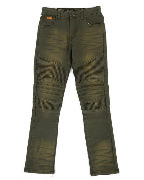 Parish - Colored Stretch Moto Denim Jeans (8-20)