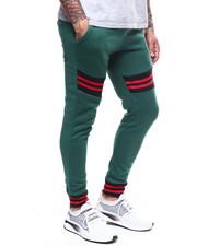 Sweatpants - Stripe Rib Jogger Pant-2303605