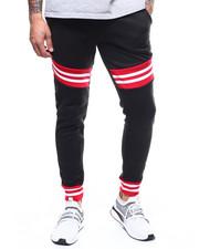 Sweatpants - Stripe Rib Jogger Pant-2303510