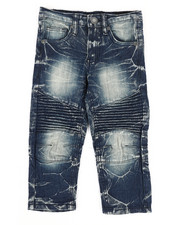Bottoms - Stretch Moto Jeans (2T-4T)-2303184