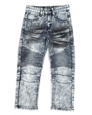 Arcade Styles - Stretch Moto Jeans (4-7)-2303168