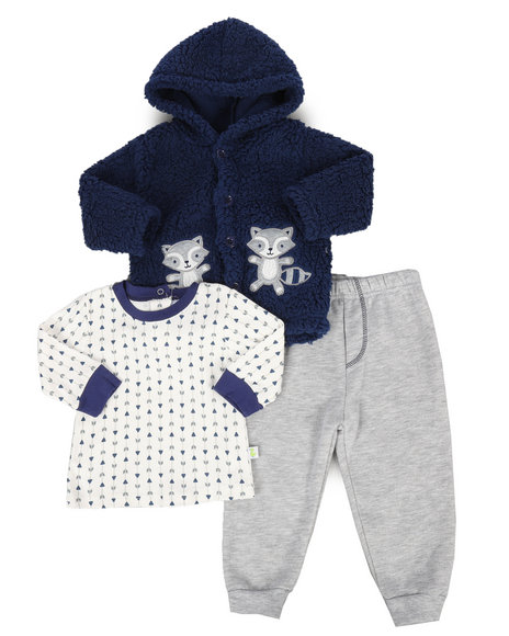 Buy 3 Piece Sherpa Set Infant Boys Sets From Duck Duck Goose Find