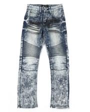Jeans - Stretch Moto Jeans (8-20)-2303173