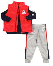 Boys - Puffer Vest 3Pc Set (2T-4T)-2302309