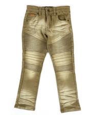 Boys - Colored Stretch Moto Denim Jeans (4-7)-2302660