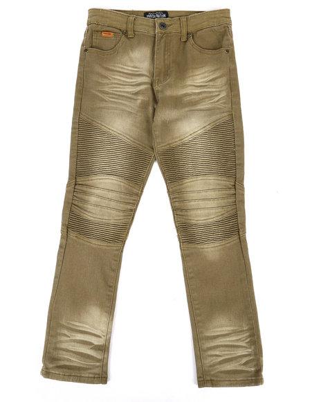 Parish - Colored Stretch Moto Denim Jeans (8-20)