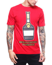 T-Shirts - HENNYTHING IS POSSIBLE TEE-2303540