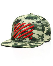 Hats - Stripes Camo Strapback Hat-2302292
