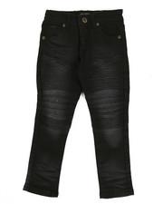 Jeans - Colored Stretch Moto Denim Jeans (8-20)-2302924
