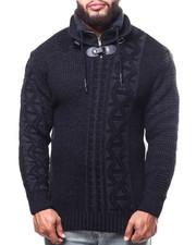Buyers Picks - Novelty Knit Zip Neck Sweater (B&T)-2302806