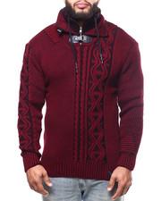 Buyers Picks - Novelty Knit Zip Neck Sweater (B&T)-2302801