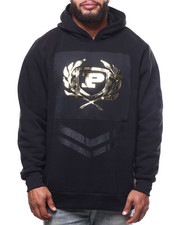 Phat Farm - L/S Embossed Metallic Vinyl Patch Fleece Hoodie (B&T)-2302349