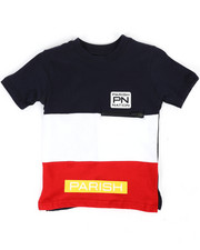 Boys - Classic Color Block Tee (4-7)-2302527