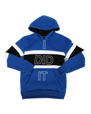 Hoodies - I Did It Color Block Hoodie (8-18)-2302981