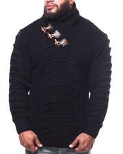 Buyers Picks - Ribbed Toggle Trim Sweater (B&T)-2302738