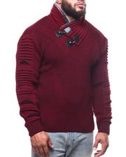 Buyers Picks - Toggle Trim Funnel Neck Sweater (B&T)-2302770