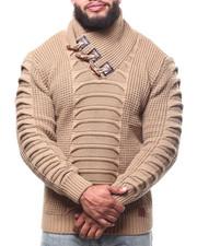 Buyers Picks - Ribbed Toggle Trim Sweater (B&T)-2302724
