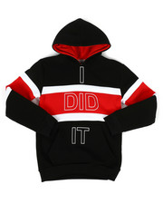 Hoodies - I Did It Color Block Hoodie (8-18)-2302976
