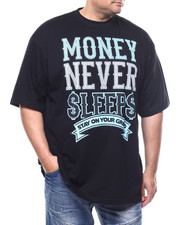 Buyers Picks - Money Never Sleep Tee (B&T)-2302673