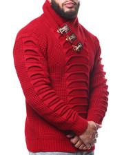 Buyers Picks - Ribbed Toggle Trim Sweater (B&T)-2302729