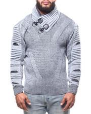 Buyers Picks - Toggle Trim Funnel Neck Sweater (B&T)-2302750