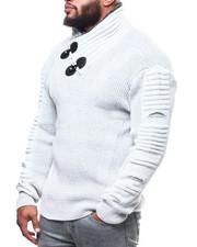 Buyers Picks - Toggle Trim Funnel Neck Sweater (B&T)-2302765