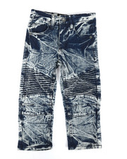Bottoms - Stretch Moto Jeans (2T-4T)-2303180