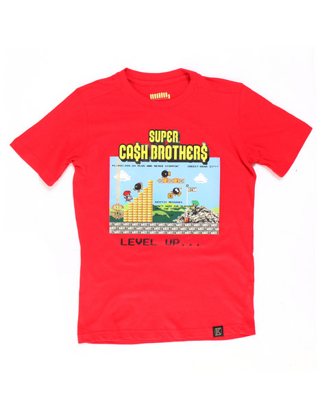 deKryptic - Super Cash Brothers Augmented Reality Tee (8-20)