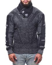 Buyers Picks - Toggle Trim Funnel Neck Sweater (B&T)-2302755