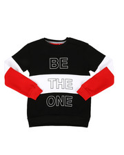 Sweatshirts & Sweaters - Be The One Color Block Pullover Sweatshirt (8-18)-2302971