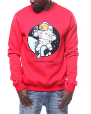 Mens-Winter - SPACE BEAR CREWNECK SWEATSHIRT-2304311
