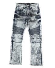 Jeans - Stretch Moto Jeans (8-20)-2303152