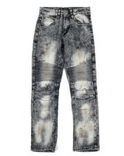 Jeans - Stretch Moto Jeans (8-20)-2303145
