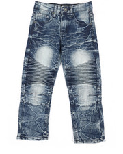 Arcade Styles - Stretch Moto Jeans (4-7)-2303188