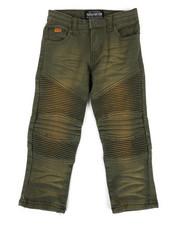 Parish - Colored Stretch Moto Denim Jeans (2T-4T)-2302734
