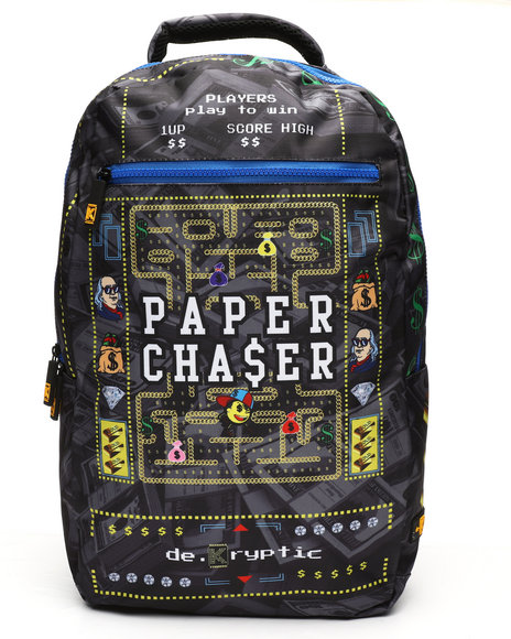 deKryptic - Paper Chaser Augmented Reality Backpack