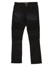 Boys - Colored Stretch Moto Denim Jeans (4-7)-2302705