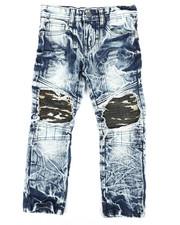 Boys - Camo Reverse Jeans (4-7)-2304814
