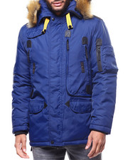 Outerwear - Utilitarian Parka Jacket BY ROBERT PHILLIPE-2304721