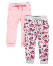 Girls - Twin Pack Jogger Set (2T-4T)-2304297