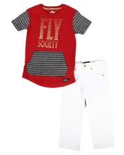 Fly Society - 2 Pc T-Shirt & Denim Jean Set (2T-4T)-2303932