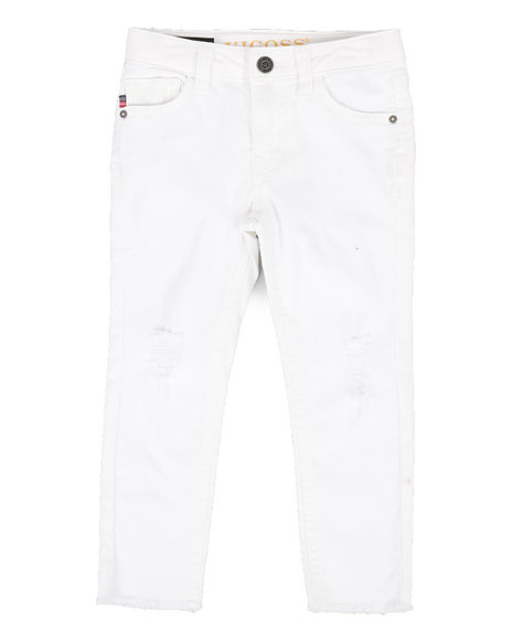 Vigoss Jeans - Spring White Ankle Jeans (4-6X)