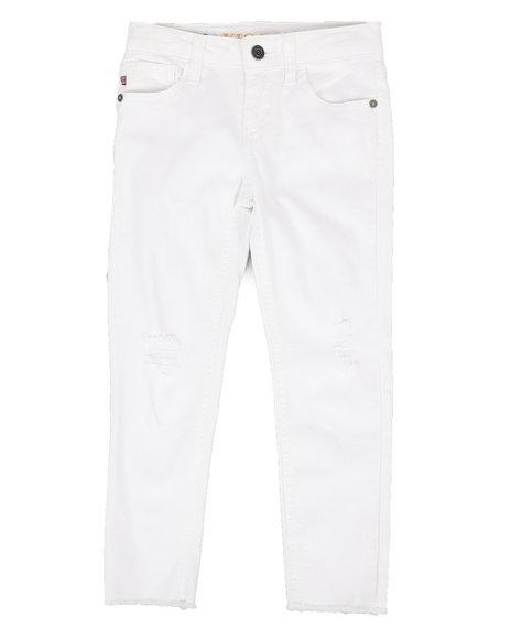 Vigoss Jeans - Spring White Ankle Jeans (7-16)
