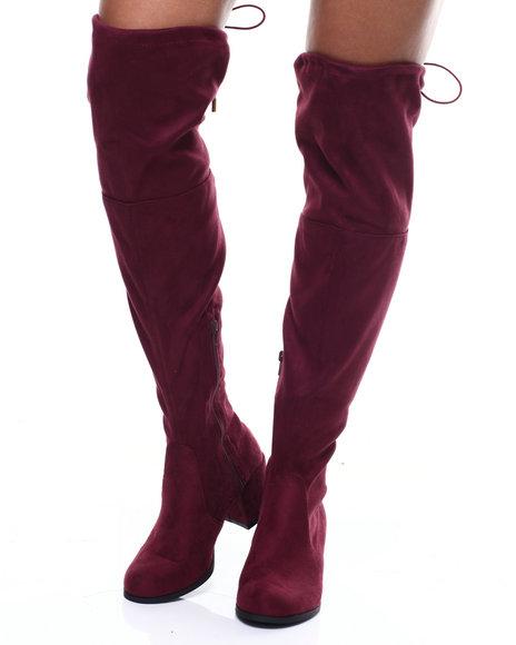 Fashion Lab - Aniq Chunky Heel Tall Boot