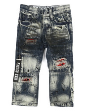 Arcade Styles - Zip Pull Jeans (2T-4T)-2304810