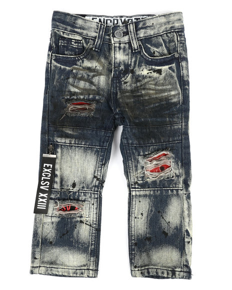 Arcade Styles - Zip Pull Jeans (2T-4T)