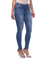 Bottoms - Crystal Accent Front 5Pkt Skinny Jean-2304212