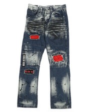 Jeans - Zip Pull Jeans (8-20)-2304864